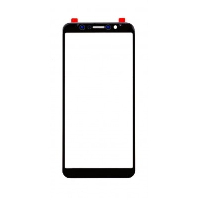 Replacement Front Glass For Asus Zenfone Max Pro M1 Zb601kl Black By - Maxbhi Com