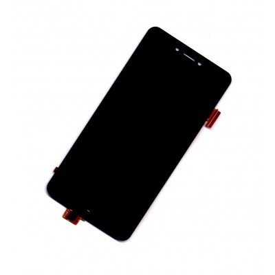 Lcd With Touch Screen For Panasonic P55 Novo Grey By - Maxbhi Com