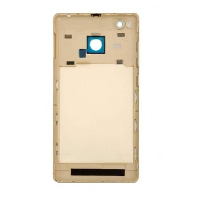 Back Panel Cover For Xiaomi Redmi 3s Prime Gold - Maxbhi Com