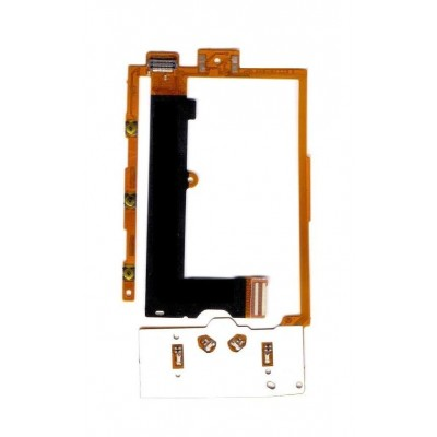 Lcd Connector For Nokia X300 X3 Keypad With Keyboard Flex Cable Membrane - Maxbhi Com