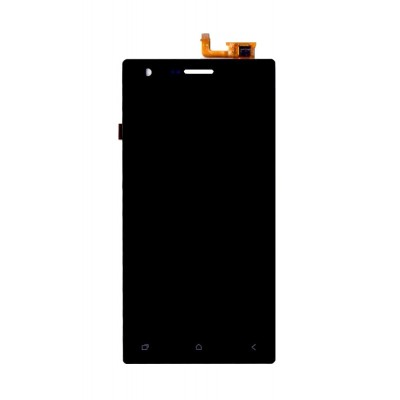 Lcd With Touch Screen For Micromax Canvas Xpress 4g Q413 Black By - Maxbhi Com