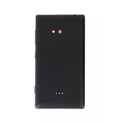 Back Panel Cover For Nokia Lumia 720 Black - Maxbhi Com