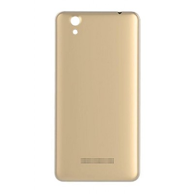 Back Panel Cover For Gionee P5w Gold - Maxbhi Com