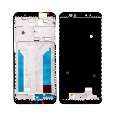 Lcd Frame Middle Chassis For Asus Zenfone Max Pro M1 Zb601kl Black By - Maxbhi Com