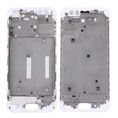 Lcd Frame Middle Chassis For Vivo Y21l White By - Maxbhi Com