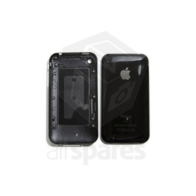 Back Cover For Apple iPhone 3G - Black