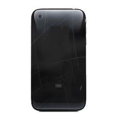 Back Cover For Apple iPhone 3GS - Black
