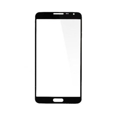 Replacement Front Glass For Samsung Galaxy Note 3 Neo Lte Plus Smn7505 Grey By - Maxbhi Com