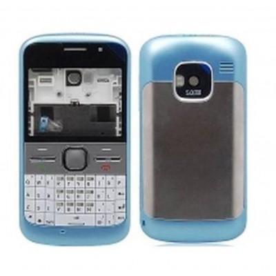 Full Body Housing For Nokia E5 Blue - Maxbhi.com