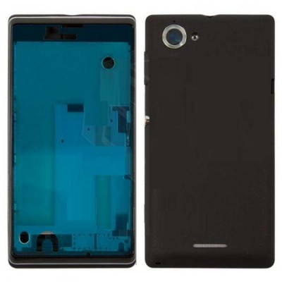 Full Body Housing For Sony Xperia L C2104 Black - Maxbhi.com