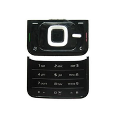 Keypad For Nokia N81 - Silver & Black