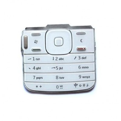 Keypad For Nokia N79 Silver - Maxbhi Com