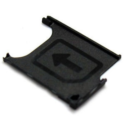Sim Tray For Sony Xperia Z Ultra HSPA+ C6802 - Black