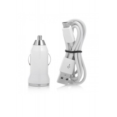 Car Charger for vivo Y28 with USB Cable