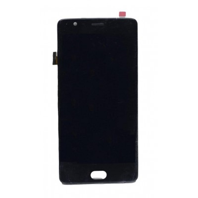 Lcd With Touch Screen For Oneplus 3 Graphite By - Maxbhi Com