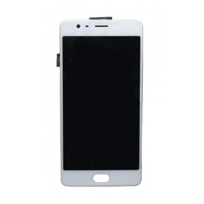 Lcd With Touch Screen For Oneplus 3 White By - Maxbhi Com