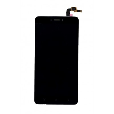 Lcd With Touch Screen For Xiaomi Redmi Note 4black By - Maxbhi Com