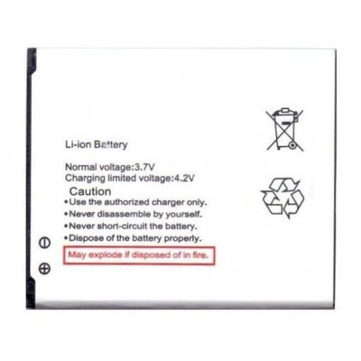 Battery For Lava Iris 406q By - Maxbhi.com