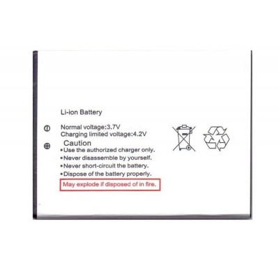 Battery For Lava Iris X5 By - Maxbhi.com