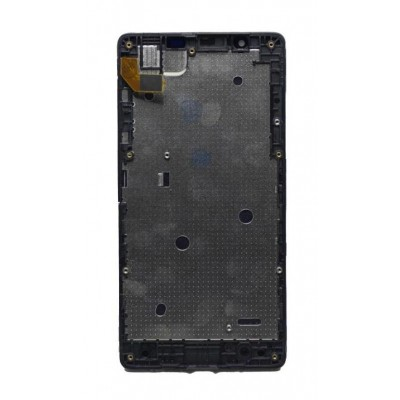 Lcd With Touch Screen For Microsoft Lumia 540 Dual Sim Black By - Maxbhi Com