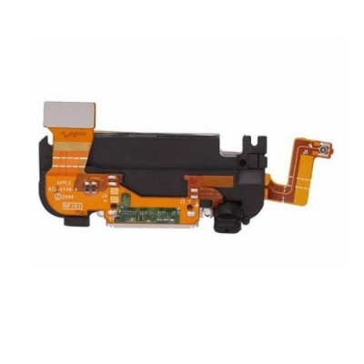 Charging Connector Jack Dock Flex Cable For Apple Iphone 3g - Maxbhi Com