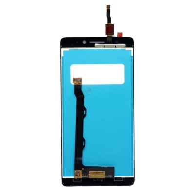 Lcd With Touch Screen For Lenovo A7000 Black By - Maxbhi Com