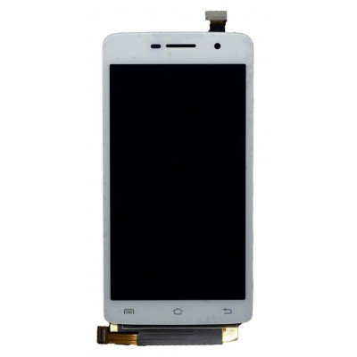 Lcd With Touch Screen For Vivo Y21l White By - Maxbhi Com
