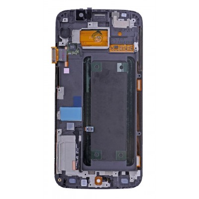 Lcd With Touch Screen For Samsung Galaxy S6 Edge Gold By - Maxbhi Com