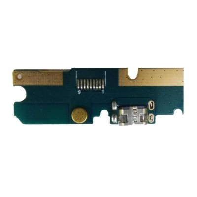 Charging Connector Flex Pcb Board For Mobiistar C1 Shine By - Maxbhi Com