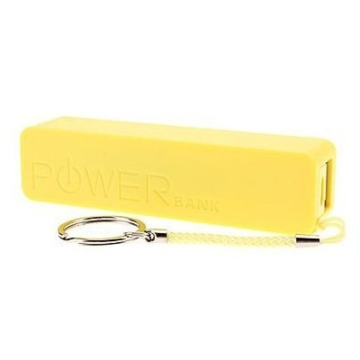 2600mAh Power Bank Portable Charger For Micromax Canvas Nitro A311 (microUSB)