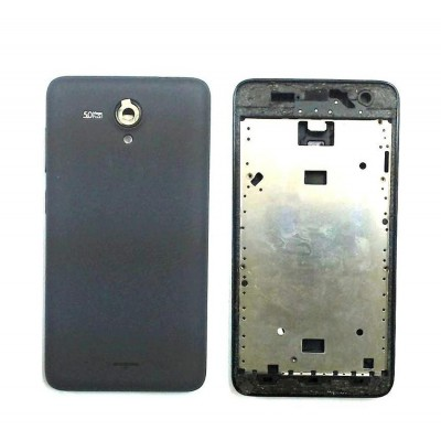 Full Body Housing For Micromax A106 Unite 2 Black - Maxbhi Com