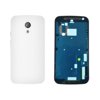Full Body Housing For Motorola Moto G 2nd Gen White - Maxbhi Com
