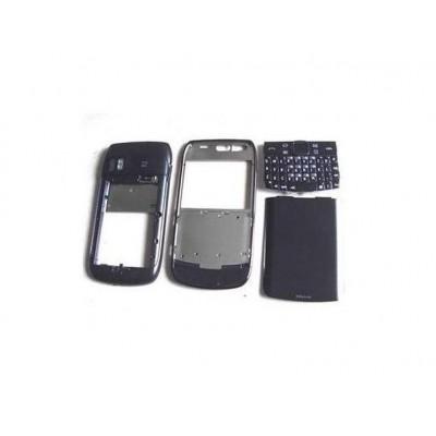 Full Body Housing For Nokia E6 E600 Black - Maxbhi Com