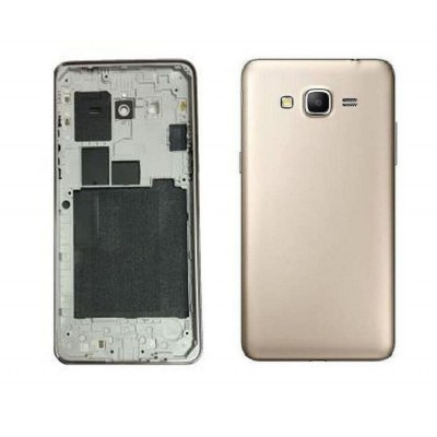 Full Body Housing For Samsung Galaxy Grand Prime Smg530h Gold - Maxbhi.com