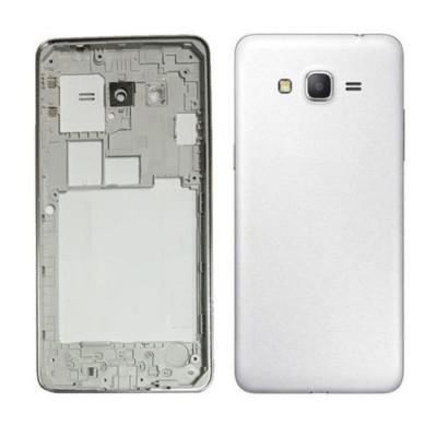 Full Body Housing For Samsung Galaxy Grand Prime Smg530h White - Maxbhi.com