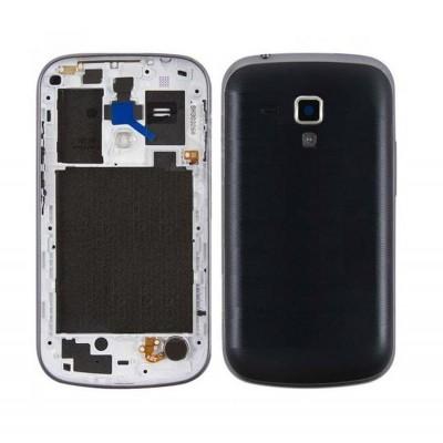 Full Body Housing For Samsung Galaxy S Duos 2 S7582 Black - Maxbhi.com