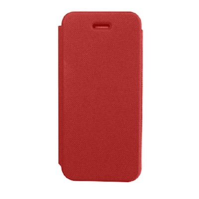 Flip Cover For Apple Iphone 5 Red - Maxbhi Com