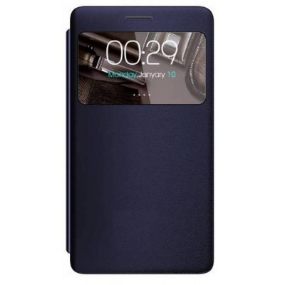Flip Cover for Micromax A102 Canvas Doodle 3 - Blazing Blue