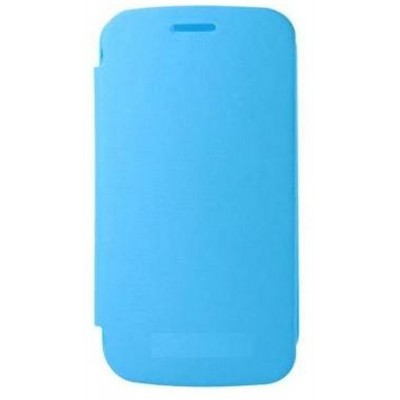 Flip Cover for Micromax Canvas 5 - Blue