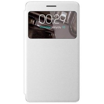 Flip Cover for Micromax Canvas Doodle 3 - White