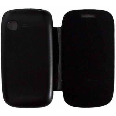 Flip Cover for Samsung Galaxy Pocket Neo Duos S5312 - Black