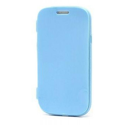 Flip Cover For Samsung Galaxy S3 Mini Ve I8200 Blue By Maxbhi Com