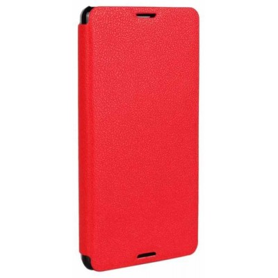 Flip Cover for Sony Xperia E3 Dual D2212 - Red