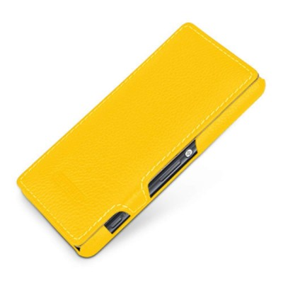 Flip Cover for Sony Xperia E3 Dual D2212 - Yellow