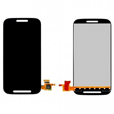 Lcd With Touch Screen For Moto E 1st Gen Black By - Maxbhi Com