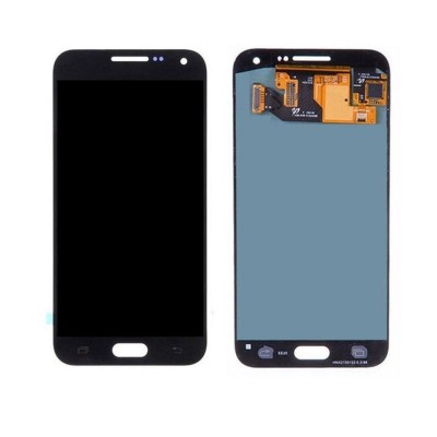 Lcd With Touch Screen For Samsung Galaxy E5 Sme500f Black By - Maxbhi Com