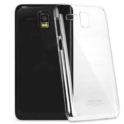 Transparent Back Case for Lava Iris 406Q