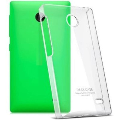 Transparent Back Case for XOLO A500S