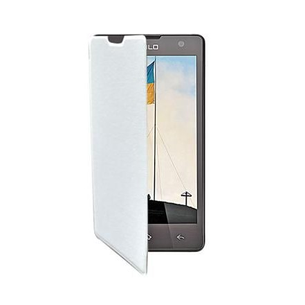 info for 35616 2f7c9 Flip Cover for Xolo Era 4G - White