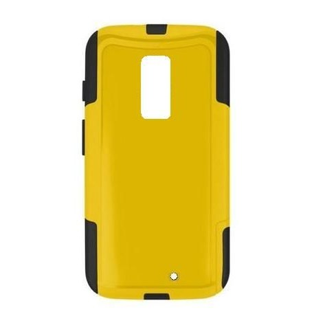 outlet store cc97c 8a0e6 Back Case for Motorola Moto G2 8GB - Yellow & Black